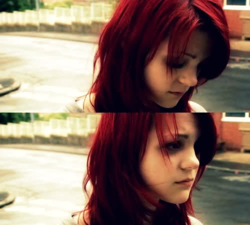 1. Because I love Skins (UK tv show)  2. I want her hair so freaking badly.