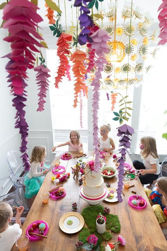 Capture The Beauty Of Wisteria Through Paper Crafting With These Easy Wisteria Templates And Tutorial Whats I In 2020 Paper Decorations Paper Flowers Flower Template