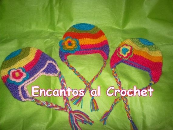 GORROS INFANTILES - Crochet - Tejidos de Punto - 394599