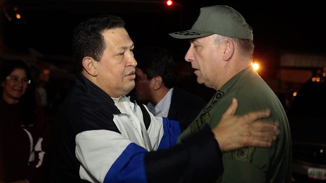 Chavez back home after oxygen treatment in Cuba #Chavez #Venezuela