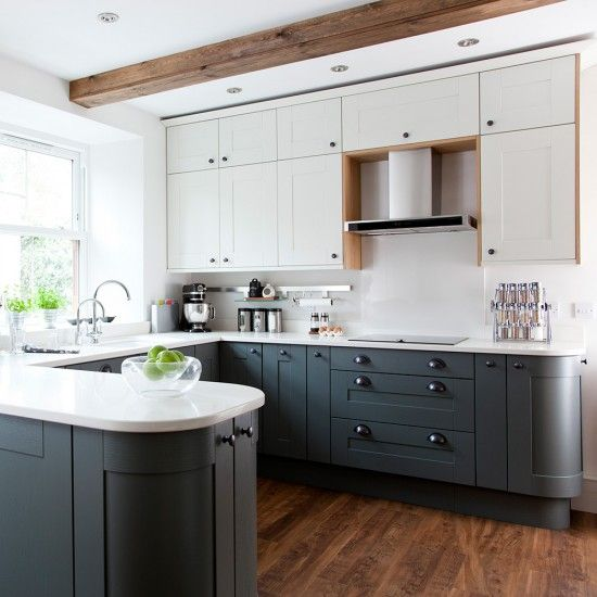Designers Kitchen Small U White Shaker