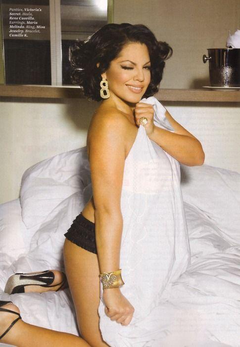 Sara Ramirez (Greys Anatomy) - She's gorgeous! I want curves like her.