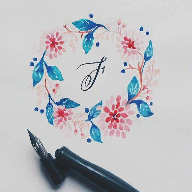 Feeling so blessed :) I have so many things to thank for :) #calligrafikas #dippen #nibs