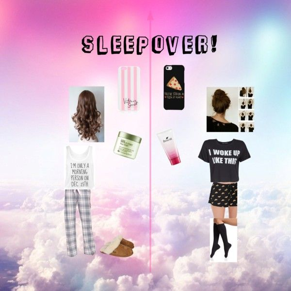 """""""Sleepover!"""" by fetchbraid on Polyvore"""