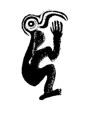 TANGATA MANU: Tangata manu significa hombre-pájaro, era así llamado quien lograba llevar hasta las alturas del volcán Rano Kau, en Orongo, el huevo del manutara. Aquí se encuentran los petroglifos que lo representan: un pájaro con cuerpo de hombre, que en su mano lleva el precioso huevo de mando. Con el significado de coraje y fuerza.