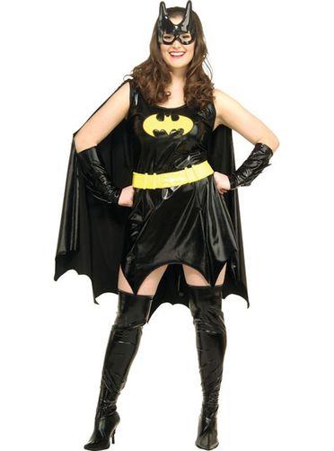 Costume de Batgirl Sexy grande taille