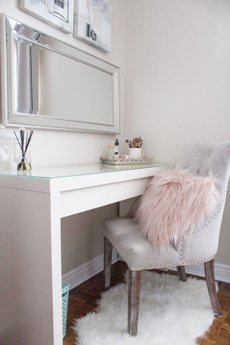 White Interior Bedroom