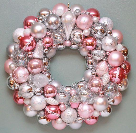 Best 25 Ornament wreath ideas on Pinterest Xmas