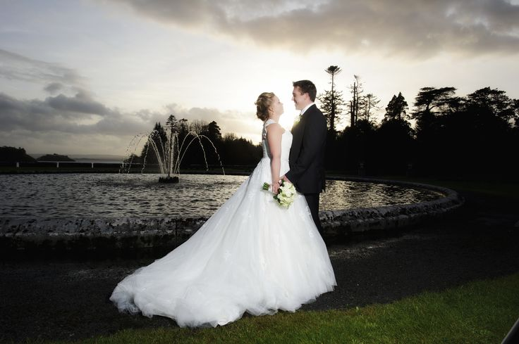 Could not ask for a better backdrop for your #wedding photos in Ireland then the grounds of #AshfordCastle. Photo by Dillon Photography. Wedding by Waterlily Weddings