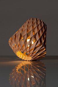 Replica Pilke 36 Natural Birch Table Lamp 300px