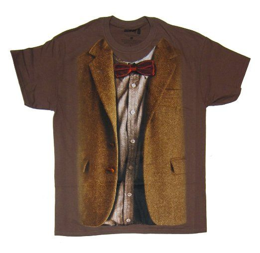 Amazon.com: Doctor Who 11th Doctor Costume T-shirt: Clothing