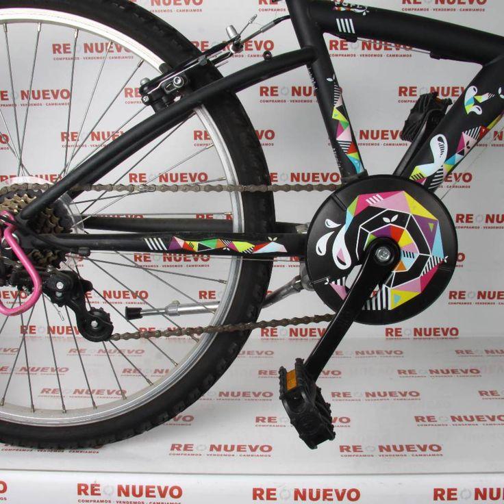 Bicicleta BTWIN 24 POPLY#bicicleta# de segunda mano#BTWIN