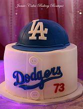 Dodger Grooms cake