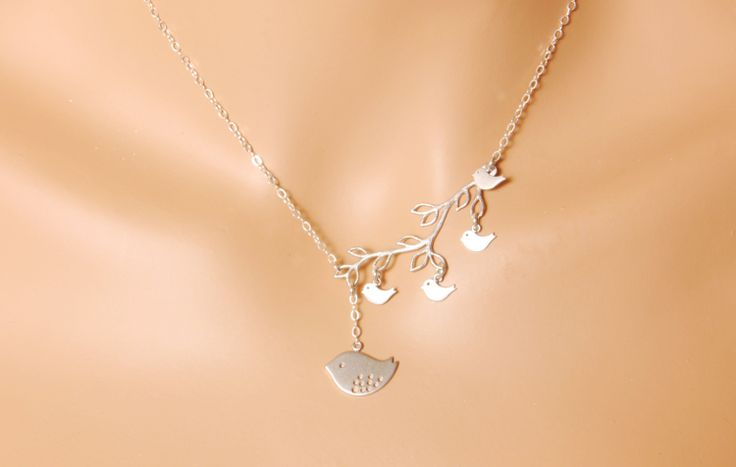 Mom Nekclace  mom of four 4 kids mothers necklace by MegusAttic, $38.00