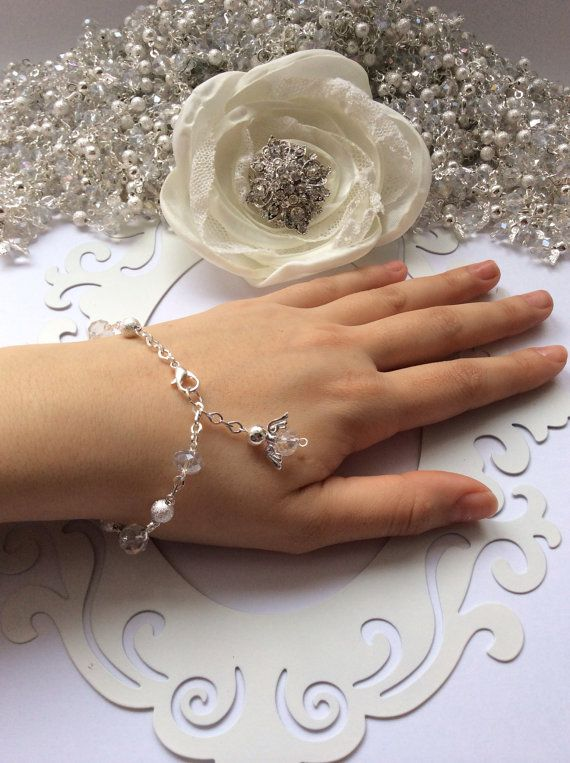 12 pcs Angel Silver Bracelets First communion favors, baptism, christening, Recuerditos Bautizo