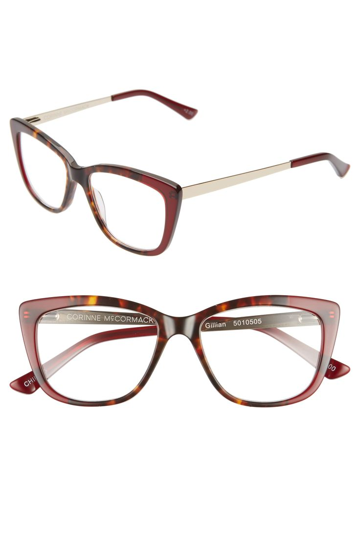 Women's Corinne Mccormack Gillian 52Mm Reading Glasses – Red