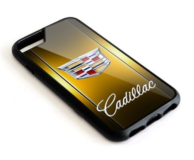 Cadillac Gold Car Best Automotive  iPhone 6 6s 7 8 X Plus Hard Plastic Case #UnbrandedGeneric