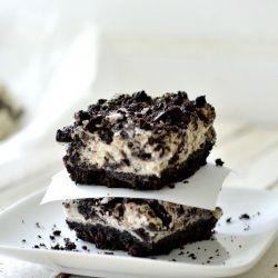 Lighter take on the popular oreo cheesecake squares!: Squares Recipe, Cream Bar, Oreo Cheesecake, Cheesecake Squares, Cheesecake Bars, Popular Oreo, Cream Cheesecake, Lighter Oreo, Lights Oreo