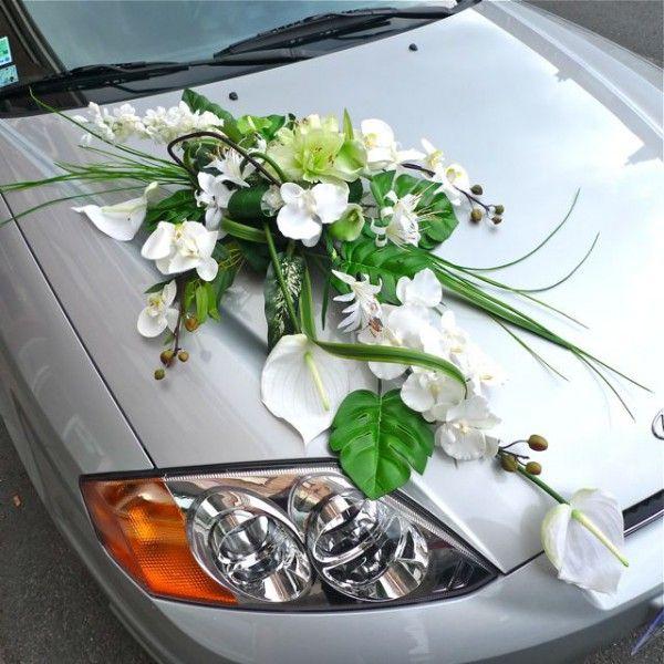 composition florale voiture mariage recherche google. Black Bedroom Furniture Sets. Home Design Ideas