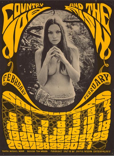 country joe and the fish 1967 #posters
