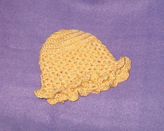 Adorable Peachpink preemie or newborn hat by ThePreemieBoutique, $4.50