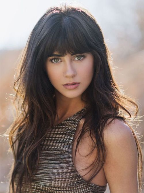 Best 25 hairstyles with bangs ideas on pinterest hair with long hairstyles 2017 with bangs new ideas and trends urmus Image collections
