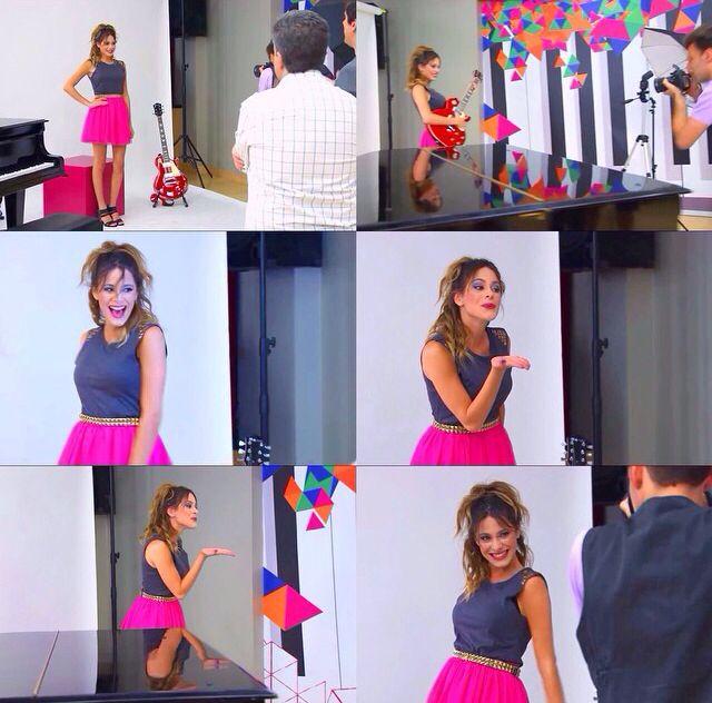 Algunas fotos del photoshoot para #violetta2