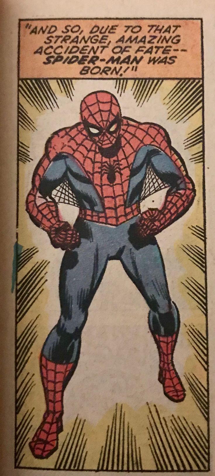 Art by John Romita and Sal Buscema 1971