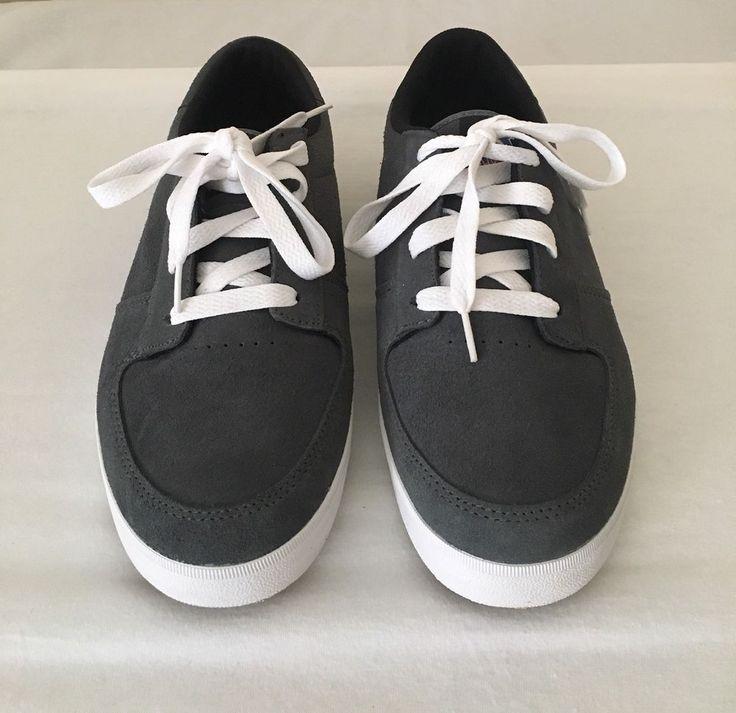Osiris Duffel VLC Size 11 Mens Gray Suede Shoes Lace Up Sneakers  #Osiris #Skateboarding