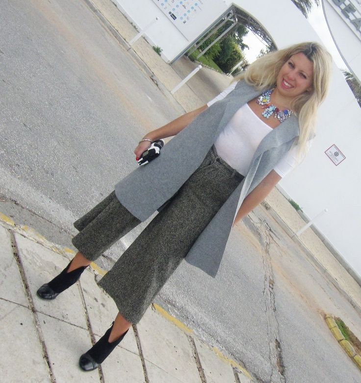 jupe culotte η νέα μόδα στα παντελόνια/ new style in trousers