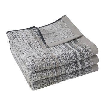 Lark 500gsm Towel - Silver