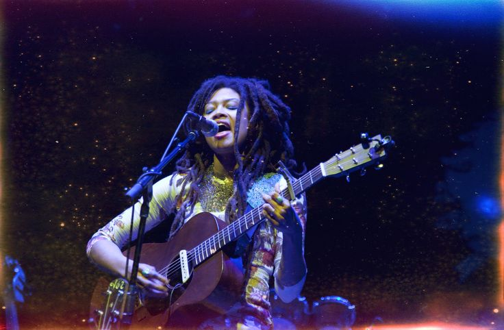 One of my favorite ladies, Valerie June.  This image is from Valerie's tour with the wonderful, Sharon Jones.  I tweaked this image with some filters....a new thing for me.  Cvorhisphoto