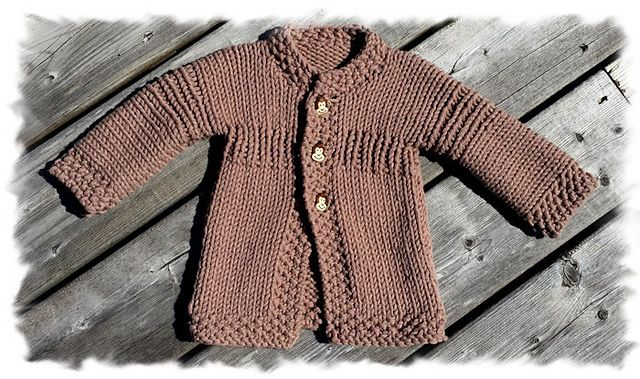Ravelry: Lickity Split Baby Jacket pattern by Lisa Vienneau