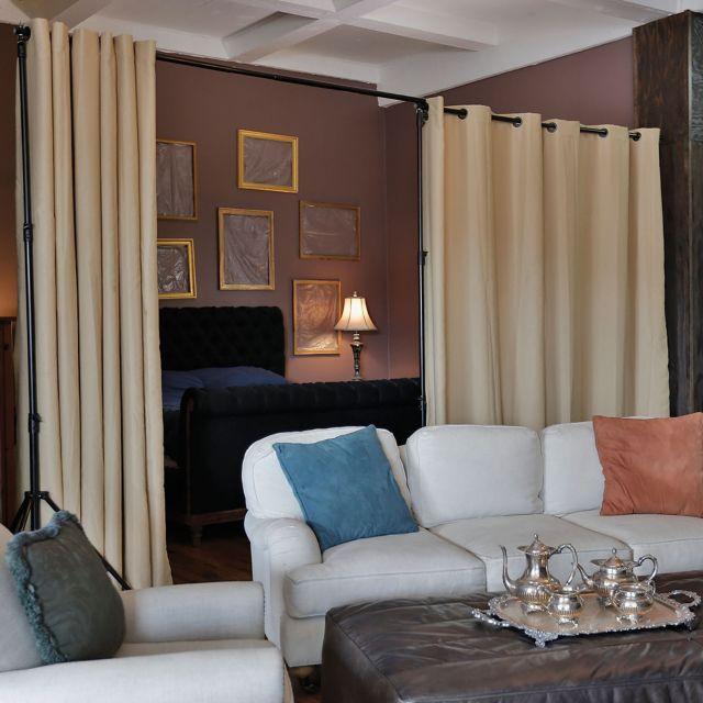 Door Separator Room Separator Ideas: 1000+ Ideas About Room Divider Curtain On Pinterest
