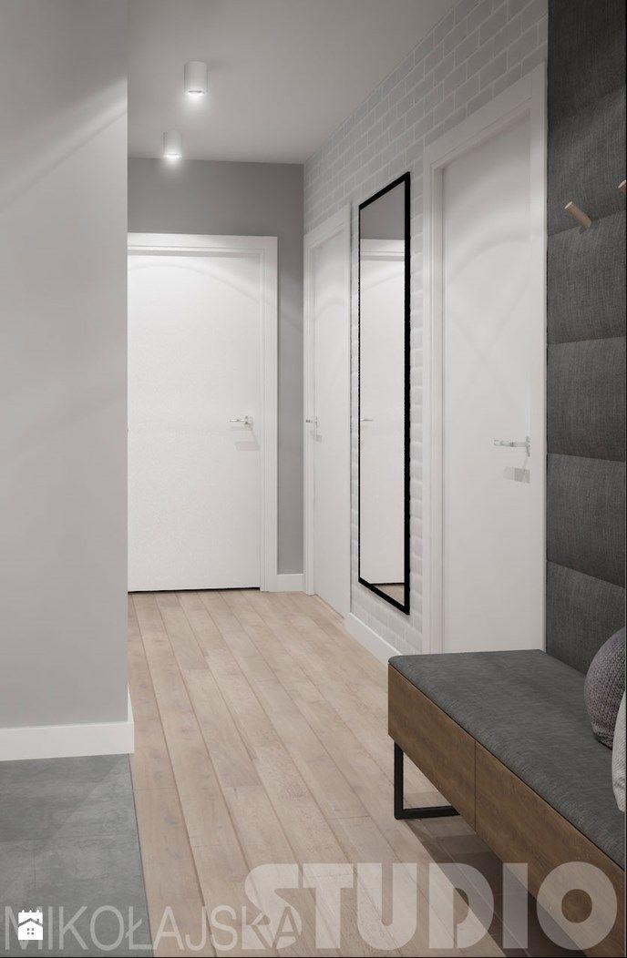 wejście do mieszkania - zdjęcie od MIKOŁAJSKAstudio - Hol / Przedpokój - Styl Nowoczesny - MIKOŁAJSKAstudio