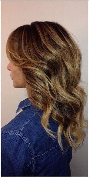highlights for a nice and natural dark blonde shade. The dark blonde or 'bronde' hair ...