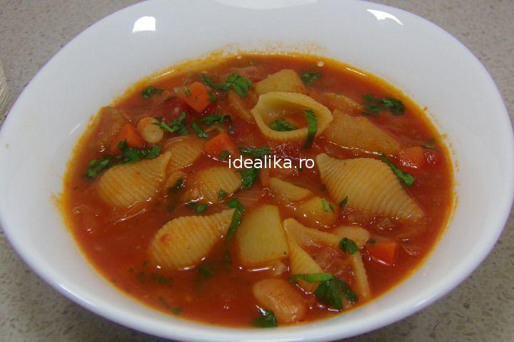 Minestrone este o supa italiana foarte gustoasa, densa si hranitoare, usor de preparat, cu carne sau fara, dupa cum dorim fiecare dintre noi