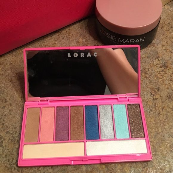 Lorac eyeshadow Palette Gorg palette! Basically new only swatched and put away w the rest Lorac Makeup Eyeshadow