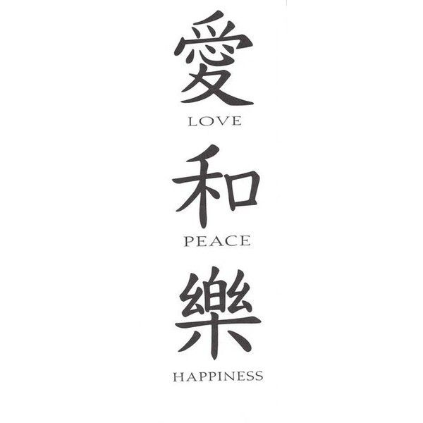 List Of Synonyms And Antonyms Of The Word Japanese Kanji Symbol Love