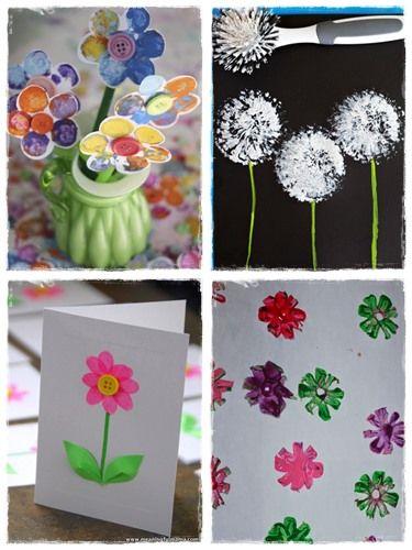 121 best images about bricolages cole on pinterest belle collage and sock puppets - Bricolage de printemps ...