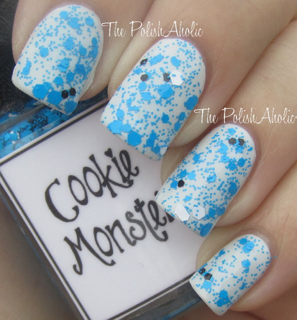 The PolishAholic: Whimsical Ideas by Pam Cookie Monster