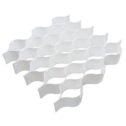 mDesign Stoffbox für Schrank oder Schublade, 4 Fächer – die ideale Aufbewahrungsbox (Stoff) – flexibel verwendbare Stoffkiste: Amazon.de: Küche & Haushalt