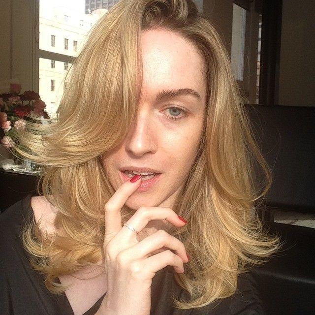 Jamie Clayton No Makeup http://withoutmakeup.org/artist/jamie-clayton/jamie-clayton-free-makeup/ #JamieClayton