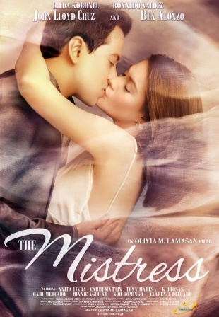 The Mistress - by Bea Alonzo & John Lloyd Cruz new movie premiers in Canada on September 28.  For more information see: http://www.TheFilipinoChannel.ca/blog.php - by TFC Canada Distributor.