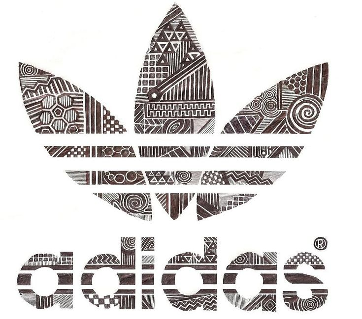Tribal Adidas by ShadowOnDaWall