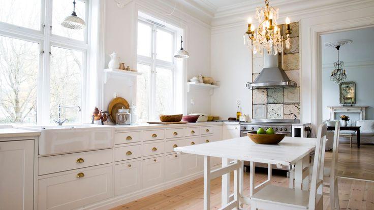 Gammelt og minimalistisk hjem på 600 kvm - Aftenposten