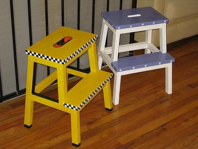 Ikea Stools by ahomeinthecity, via Flickr