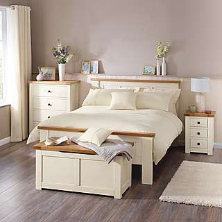 henley cream bedroom furniture collection dunelm - Cream Bedroom Ideas