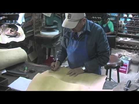 Huarache sandal maker