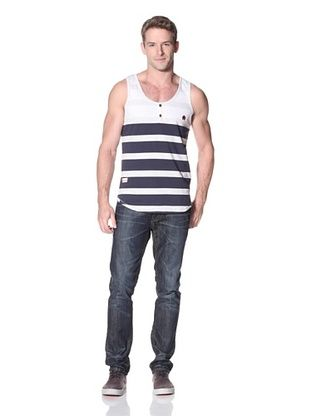 Marshall Artist Men's Nautical Stripe Tank
